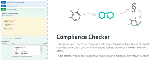 Compliance Checker in Chemicalize